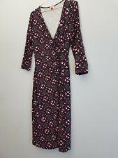 Joe Browns Viscose Jersey Wrap Dress Size 8