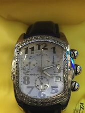 Invicta Lupah 2183 Wrist Watch for Men with Natural Diamonds