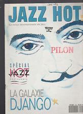 Jazz Hot Magazine #500 1993 Pilon Django
