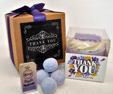 Say Thank You Gift Box Wedding Guest Mum Teacher Friend Thank You Bath Bombs