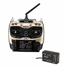 Radiolink AT9S 10 Channel 2.4GHz Radio with R9DS Receiver for RC Drones etc
