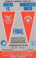 * 1968 EUROPEAN CUP FINAL - MAN UTD v BENFICA *