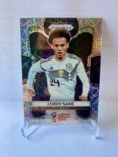 2018 Panini Prizm WORLD CUP # 93 Leroy Sane Rc Electric Prizm Germany MINT
