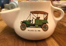More details for vintage franklin car 1906 white  shaving mug - good used condition  freepost