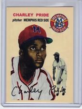 Charley Pride Memphis Red Sox Negro League custom card Bob Lemke '54 style #251
