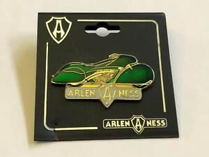 """Arlen Ness Custombike """"Grün"""" Pin / Anstecker """"1984er"""""""