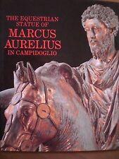 The Equestrian statue of MARCUS AURELIUS in Campidoglio, 1990.