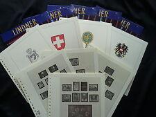 Lindner t190 formularios Países Bajos 1852-1944 como nuevo!!!