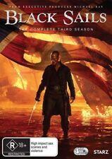 BLACK SAILS (COMPLETE SEASON 3 - DVD SET SEALED + FREE POST)
