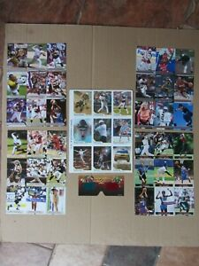 Sports Illustrated Kids Uncut Card Sheets 3D TIGER WOODS PHELPS BRADY B.Spears