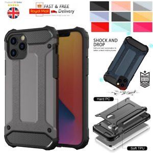 Hybrid Shockproof Bumper Armor Case For iPhone SE 6 7 8 XR XS 11 12 Pro Max
