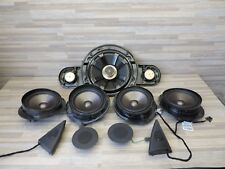 OEM Mercedes 2003-06 w211 e500 e55 e63 AMG Speaker & Sub Set of 9 R2