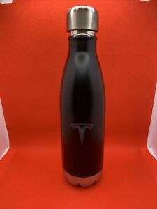 TESLA logo h2go force copper vacuum Stainless Steel Water Bottle 17oz NEW