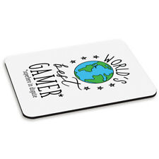 World's Best Gamer PC Computer Mouse Mat Pad Funny Favourite Gaming Computer PC