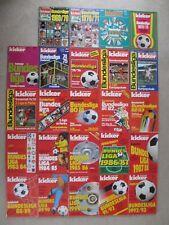 Kicker Sportmagazin Sonderheft Bundesliga