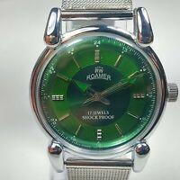 Roamer Mechanical Hand Winding Movement Mens Analog Dial Wrist Watch AB488