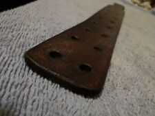 tawse/cane genuine hard dense leather  ladies paddle tawse with 14 vents