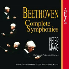 Beethoven: Complete Symphonies 1-9 - 5 CDs - Maag