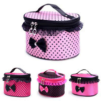 Professional Portable Cosmetics Beauty Makeup Case Box Carry Bag Jewelry Storage