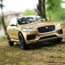 Jaguar F-PACE Gold Diecast Model Cars Toy Decoration WELLY In 1/24 For Collector