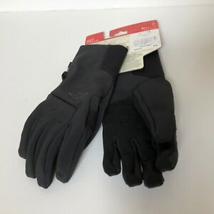 The North FaceApex Etip Gloves black  M  touch screen capability Men New