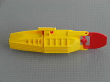 Lego Electric - Yellow Boat Motor With Propeller and  Rudder