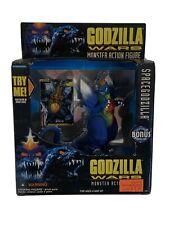 1995 Trendmasters Godzilla Wars Spacegodzilla w/ Collectible Trading Card