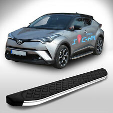 Toyota C-HR | ab Baujahr 2016 | Aluminium Trittbretter in chrom | mit TÜV/ABE