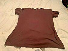 BKE BUCKLE Men's Brown Short Sleeve Shirt. Size Large  USA FREE SHIPPING