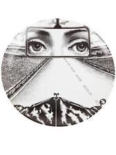 Rare Fornasetti LINA In Rearview Mirror Car Print PLATE Piero Fornasetti NIB