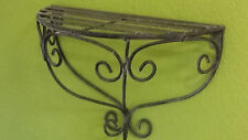 Regal Wandregal Ablage Konsole Wandkonsole Landhaus Shabby Metall B:48cm  #659