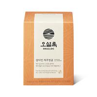OSULLOC Samdayeon Jeju tangerine Tea 10 Tea Bags Organic Green Tea Pyramid