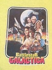 Vintage 70s BattleStar Galactica T Shirt Rare Collectable Fracking Amazing
