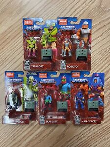 New MEGA CONSTRUX Masters of The Universe Heroes 5 Pack In Hand Amazon Exclusive