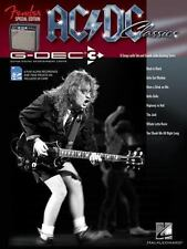 Fender G-Dec 3 AC/DC Play Along Book SD Card NEW!  SHIPS PRIORITY SHIPPING