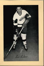 1944-63 BEEHIVE GROUP 2 PHOTOS   LEO LABINE DETROIT RED WINGS EX-MT F2516