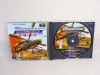 THUNDER HAWK Mega CD Victor SEGA Import Japan Game mc