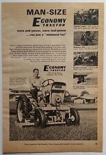 """""""Economy Tractor"""" 1970 Full Page Magazine Advertisement with 5 Photos..."""