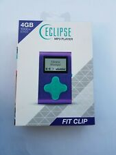 4 GB1000+ Songs Eclipse Mp3 Player Fit Clip