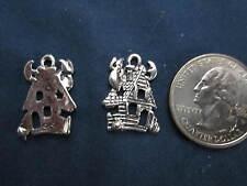wholesale lot 48 haunted house halloween charms make pendant, earrings bracelet