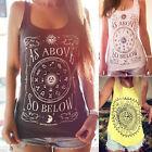 Fashion Women Summer Vest Top Sleeveless Blouse Casual Tank Tops T-Shirt