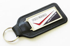 RD350LC 80-81 - 4L0 White/Red Leather Keyring for Yamaha RD 350 LC RD350 NOS