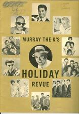 Murray the K's Holiday Revue  Program