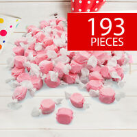 Pink Salt Water Taffy Candy - Candy -193 Pieces