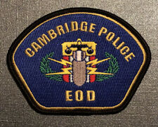 Cambridge Police EOD