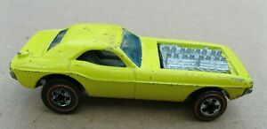 Hot Wheels Redline 1973 Show Off, Enamel Lemon Yellow