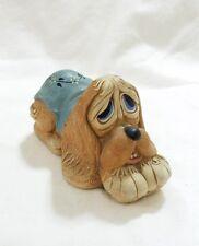 Vtg Pendelfin hand painted stonecraft pooch dog figurine home decor mid century