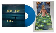 Iggy Pop - Free Exclusive Limited Edition Blue Sea Colored Vinyl LP With Poster