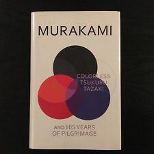 Signed by Haruki Murakami COLORLESS TSUKURA TAZAKI, Harvill Secker UK 1st/1st