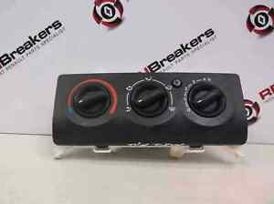 Renault Clio MK2 2001-2006 Heater Controls Panel Button Switch NO AIRCON
